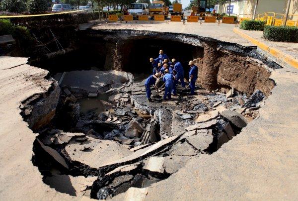 Загадка провалов в земле - смотрите интересные фото - №14