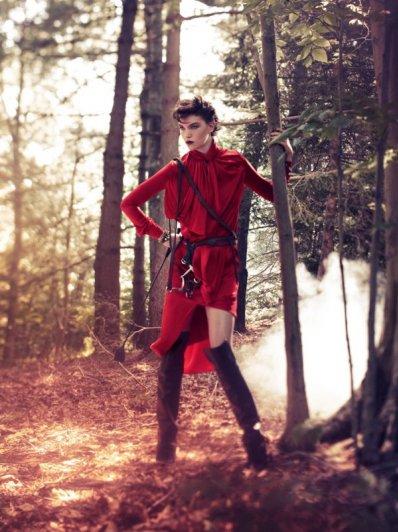 Модные фото молодых и красивых от Alexi Lubomirski - №12
