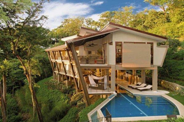 Самые красивые фото домов в лесу - №4