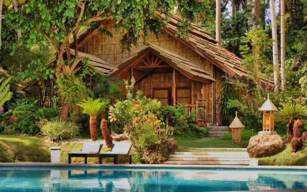 Самые красивые фото домов в лесу - №9