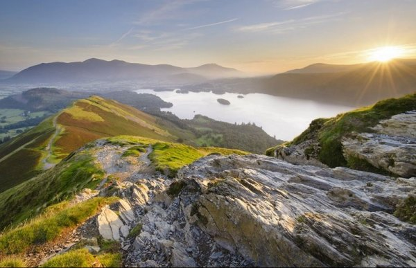 Bart Heirweg - Catbells sunrise