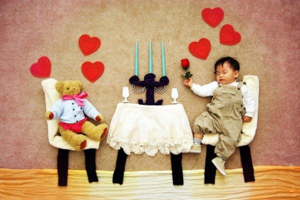 Сказочные истории в красивых фото, пока ребенок спит - №3