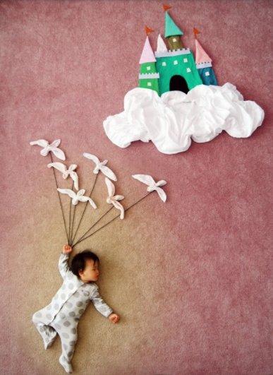 Сказочные истории в красивых фото, пока ребенок спит - №4