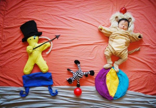 Сказочные истории в красивых фото, пока ребенок спит - №5