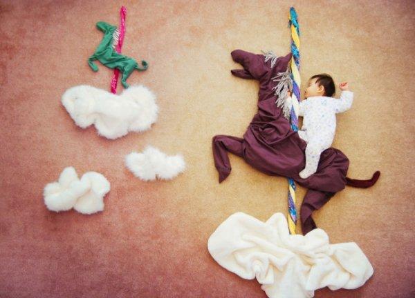 Сказочные истории в красивых фото, пока ребенок спит - №8