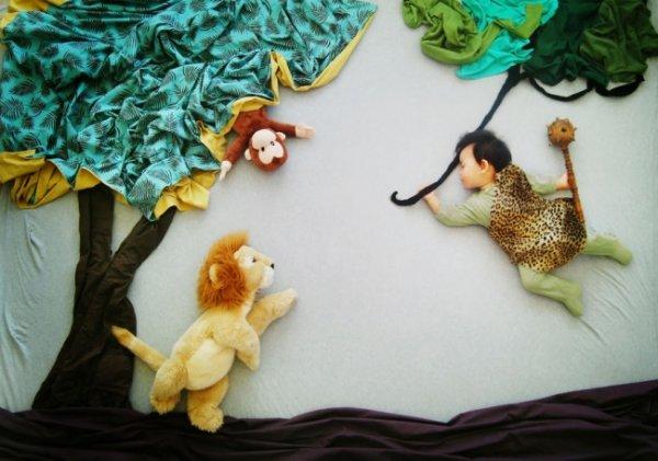Сказочные истории в красивых фото, пока ребенок спит - №9