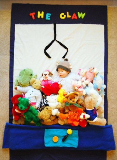Сказочные истории в красивых фото, пока ребенок спит - №10