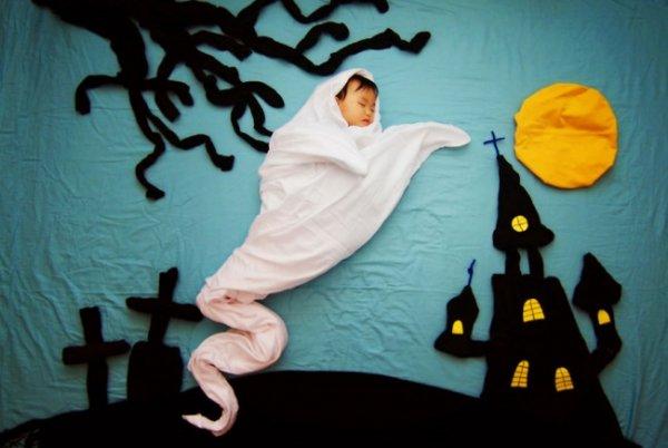 Сказочные истории в красивых фото, пока ребенок спит - №11
