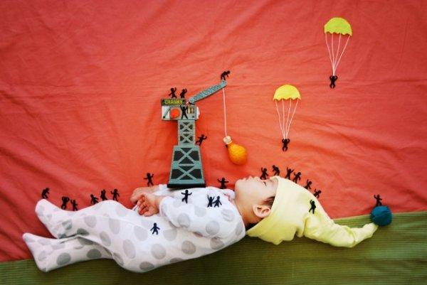 Сказочные истории в красивых фото, пока ребенок спит - №12