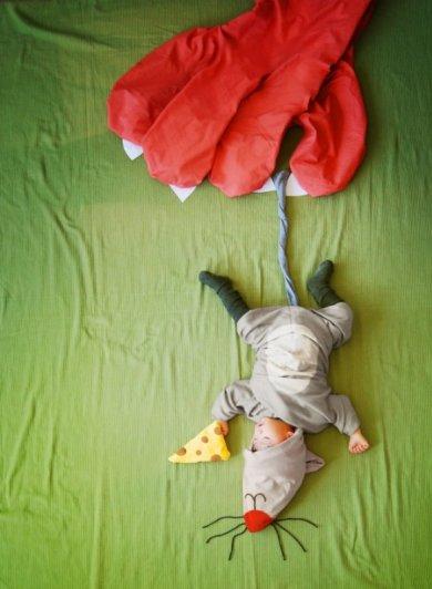 Сказочные истории в красивых фото, пока ребенок спит - №13