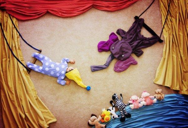 Сказочные истории в красивых фото, пока ребенок спит - №14