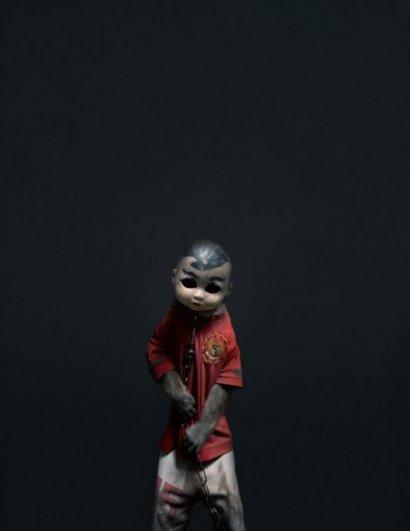 Макаки в масках – жуткие, но интересные фото - №7