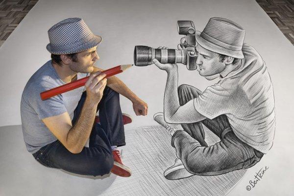 Бен Хайне. Фантазия и реальность от профессионального фотографа - художника - №3