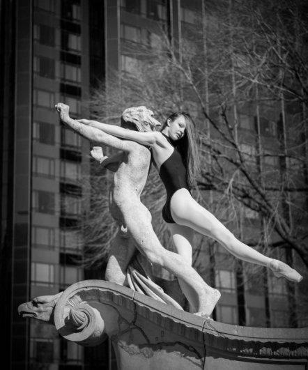 Будни танцоров балета в забавных и интересных фото - №5