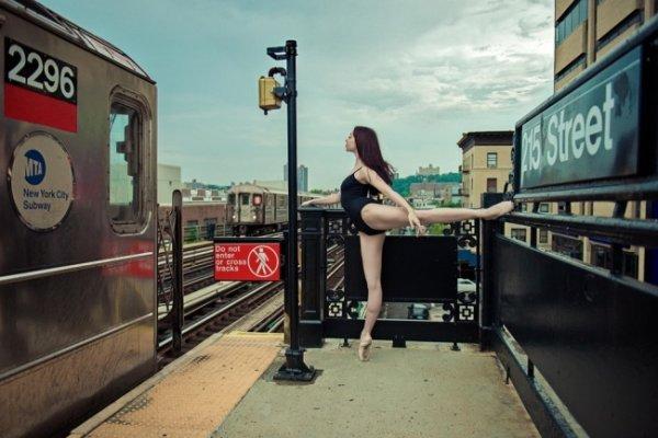 Будни танцоров балета в забавных и интересных фото - №15