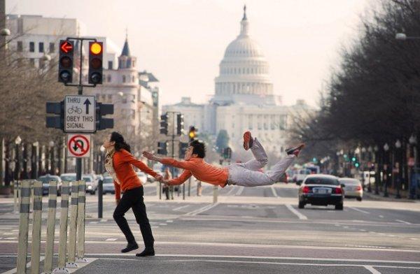 Будни танцоров балета в забавных и интересных фото - №16