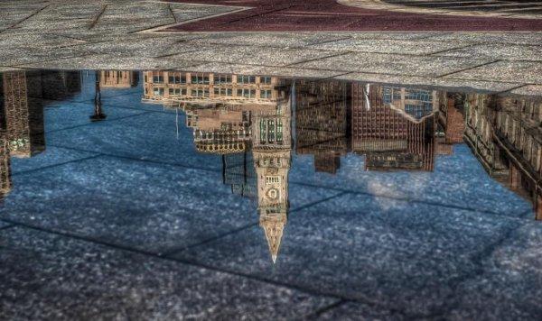 Отражение городских пейзажей в красивых фото - №2