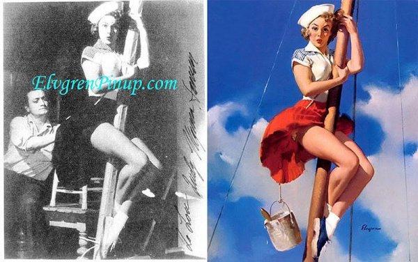 Девушки пин-ап: на красивых фото и картинках - №12
