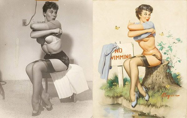 Девушки пин-ап: на красивых фото и картинках - №24