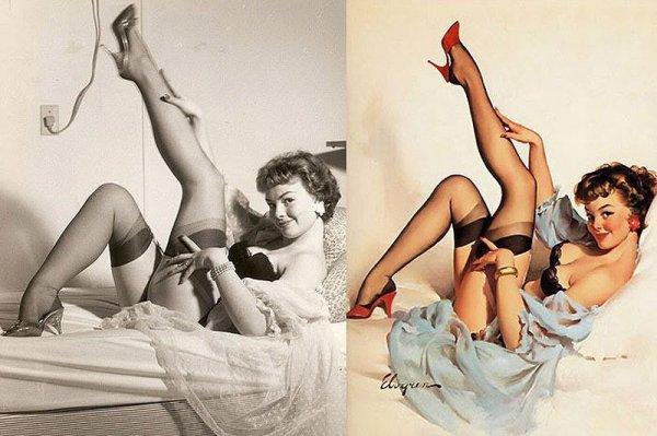 Девушки пин-ап: на красивых фото и картинках - №28