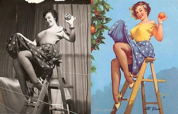 Девушки пин-ап: на красивых фото и картинках - №34