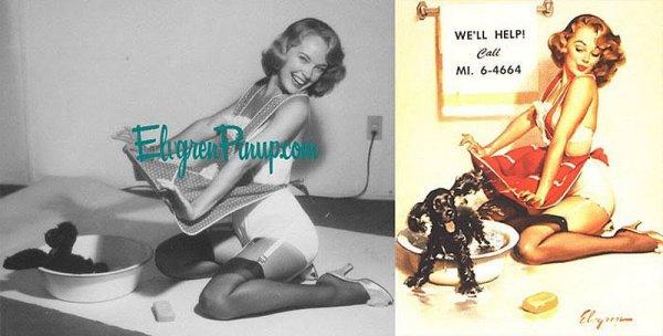 Девушки пин-ап: на красивых фото и картинках - №38