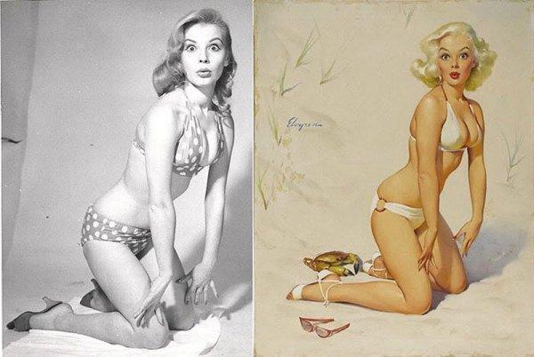 Девушки пин-ап: на красивых фото и картинках - №41