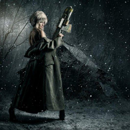 Странные работы профессионального фотографа Стефана Геселла - №2