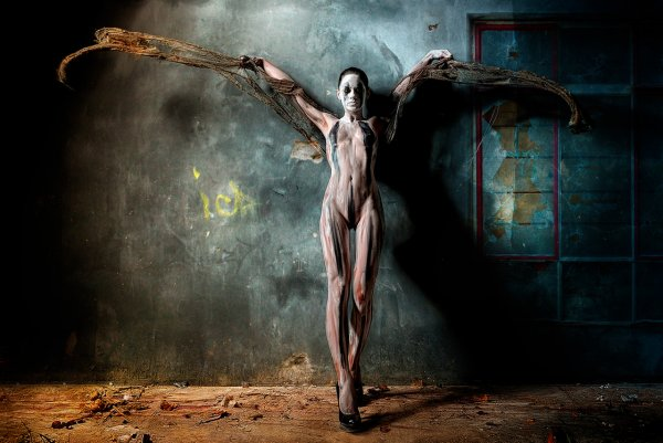 Странные работы профессионального фотографа Стефана Геселла - №4