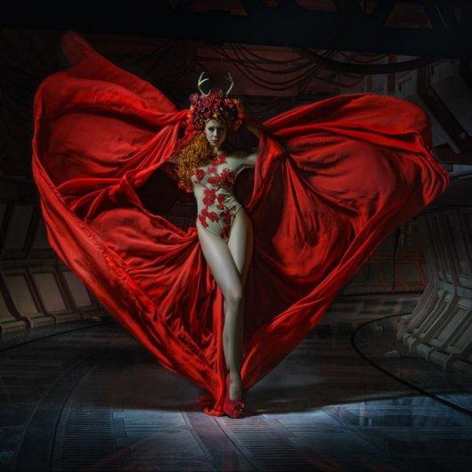 Странные работы профессионального фотографа Стефана Геселла - №12