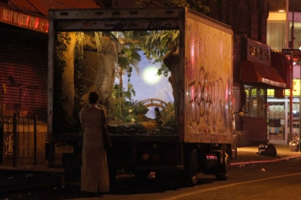 Новости в фотографиях - Шоу Бэнкси в Нью-Йорке - №3