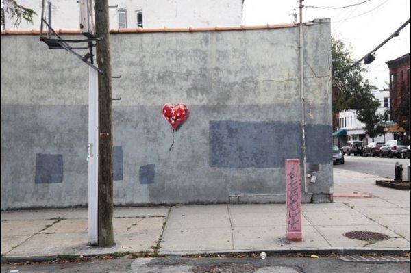 Новости в фотографиях - Шоу Бэнкси в Нью-Йорке - №5