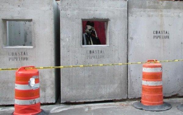 Новости в фотографиях - Шоу Бэнкси в Нью-Йорке - №9