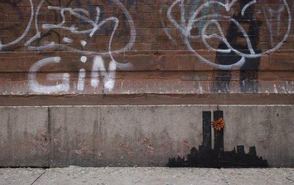Новости в фотографиях - Шоу Бэнкси в Нью-Йорке - №13