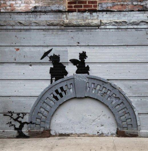 Новости в фотографиях - Шоу Бэнкси в Нью-Йорке - №15