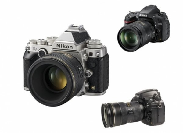 Сравнение фото камер Nikon DF, Nikon D610 и Nikon D800 - №1
