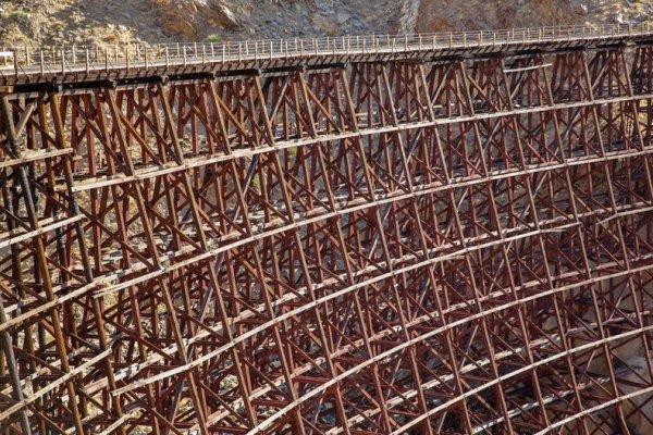Интересные фото заброшенной старинной железной дороги - №11