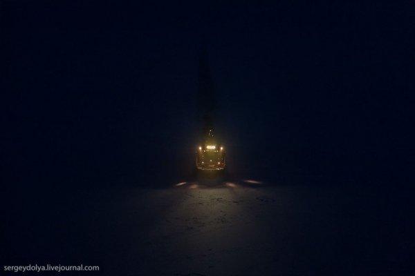 Ночь, Полюс, Ледокол. Интересная фото съемка - №17