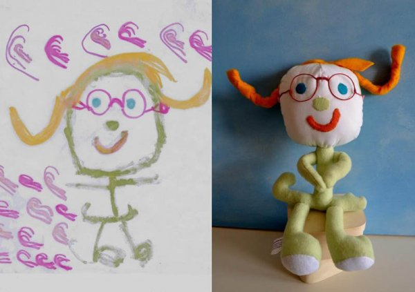 Фантазии ребенка в реальных игрушках. Очень милые фото - №10