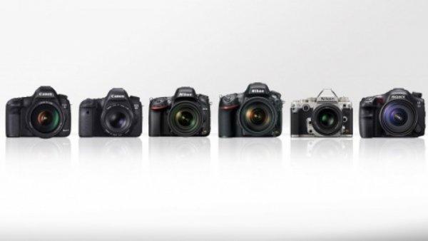 Сравнение новинок профессиональных зеркальных фото камер - №1