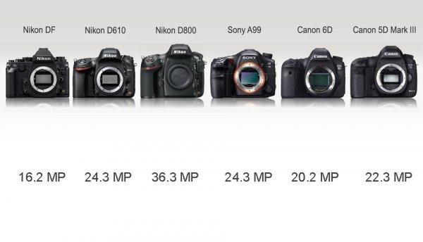Сравнение новинок профессиональных зеркальных фото камер - №5