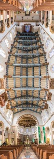 Головокружительные вертикальные фото панорамы церквей - №4