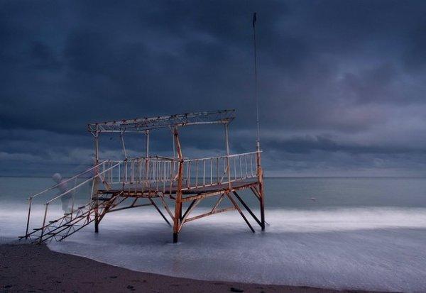 Зимние фото пейзажи из Крыма - №15