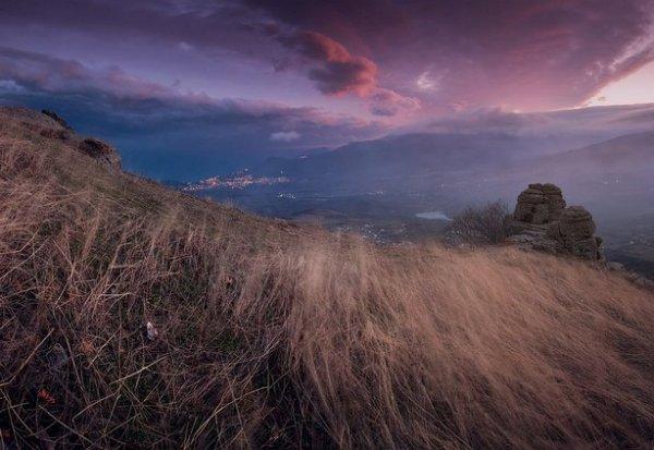 Зимние фото пейзажи из Крыма - №19