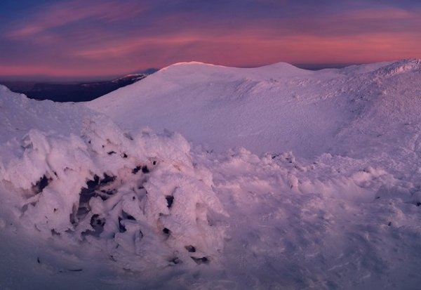 Зимние фото пейзажи из Крыма - №31