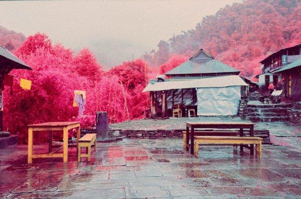 Шон Линч. Инфракрасные фото пейзажи Непала и другие работы  - №4
