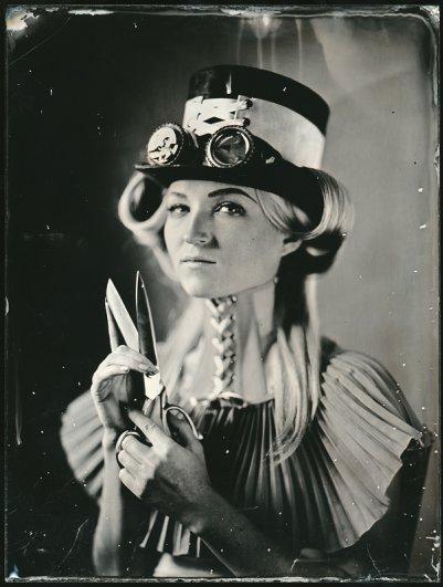 Андрей Шерстюк. Фото портреты в старинной технике амбротипии - №2