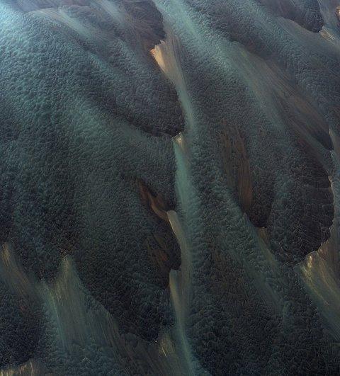 Воздушные красивые фото вулканических рек Исландии - №3