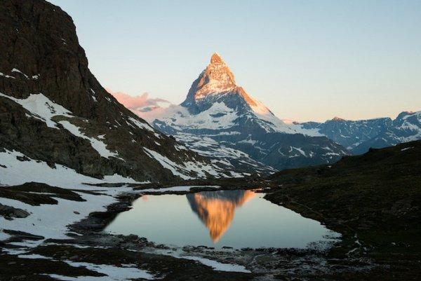 Лучшие фото Альпийских гор Маттерхорн - №2