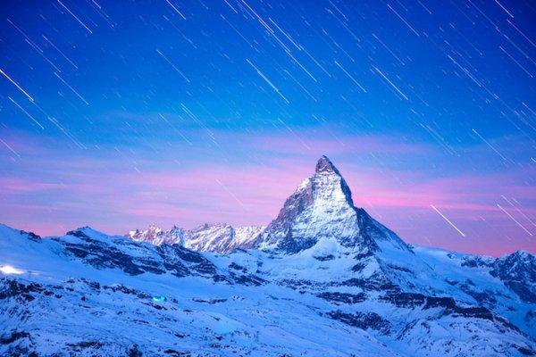 Лучшие фото Альпийских гор Маттерхорн - №6